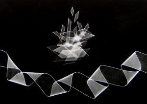 Peter Dreyer - Ribbon Photogram #5 (11x14 photograph)