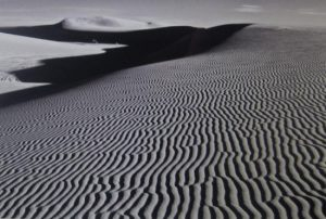 Stephen Rostler - White Sands Illusion #1 (12x18 photograph)