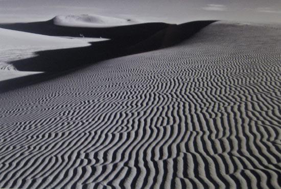 Stephen Rostler - White Sands Illusion #1 (12x18 photograph)