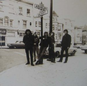Herb Greene - Dead on Haight  photograph print of the grateful dead band members on a street corner