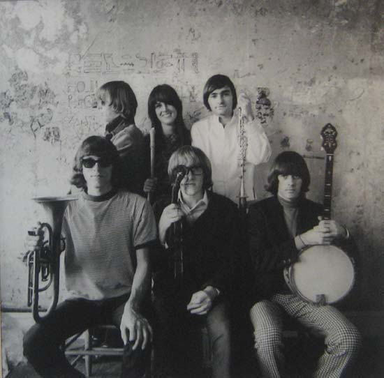 Herb Greene - Jefferson Airplane photograph print of band members including Grace Slick