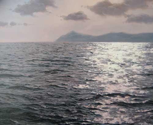 Navarro Montllor - Seascape (oil painting on canvas)