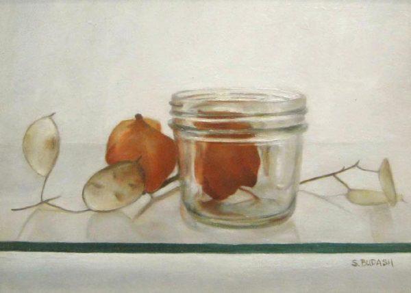 Lanterns Per Dollar (9x12 oil on canvas)