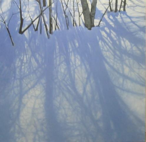 Shadow Frenzy (60x62 oil on canvas)