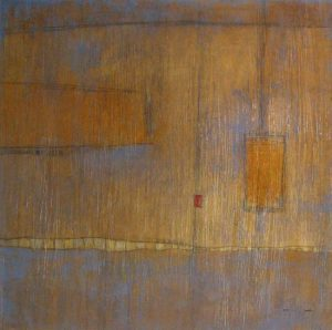 Peter Kuttner geometrical abstract painting