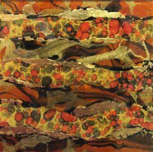 Connie Colman Harvest (mixed media art glass)