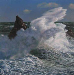 Surge (32x32 oil on canvas)