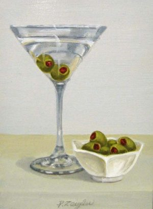 Martini I (7x5 oil on board)