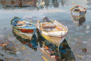 Josef Kote - Return (20x30 giclee on canvas)