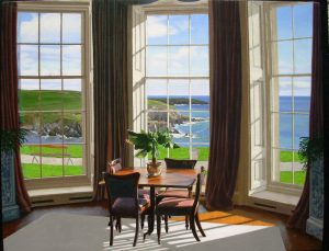 Edward Gordon - Tea Room (giclee on canvas or paper)
