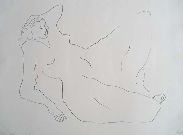 R.C. Gorman - Pajeha (State I) (22x30 lithograph on paper)