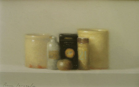 Still Life with Spices (6x10 pastel)