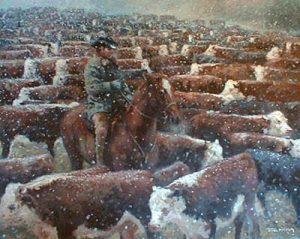 Rancher (20x24 oil on canvas)