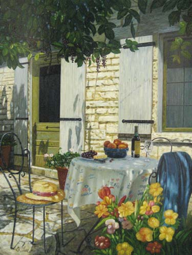 Provence Afternoon (16x12 oil on board)