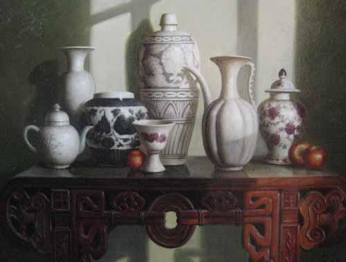 Still Life (12x16 oil on canvas)