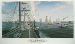 John Mecray - New York Harbor (21x35)