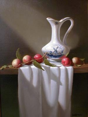Crab Apples (16x12 oil on canvas)