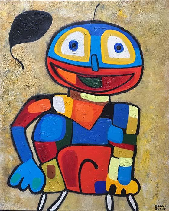 Menno Baars Dream Prince (42x30 oil on canvas)