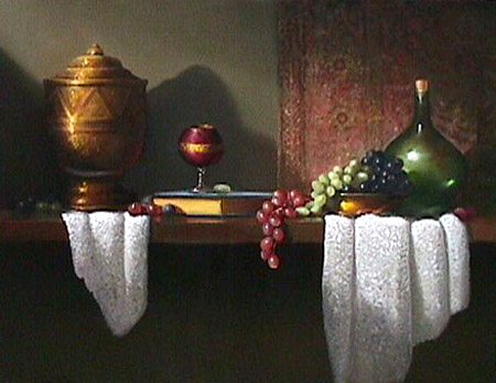 Grapes (24x30 oil on canvas)