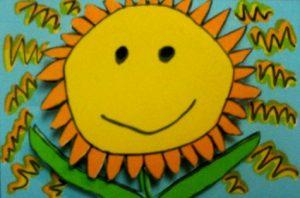 Sun Flower (silkscreen