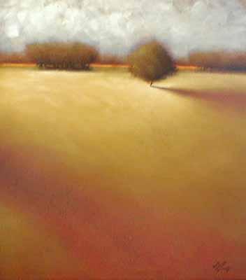 Evergreen (39x45 oil on canvas)