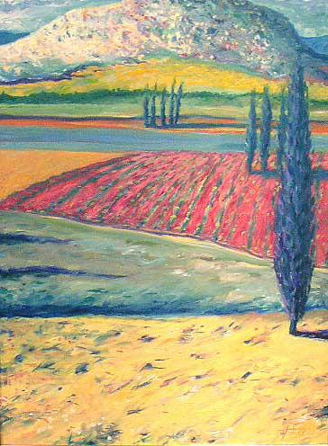 White Mountain (40x30 oil on canvas)