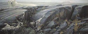 Robert Bateman - Arctic Landscape (17x41 lithograph on paper)