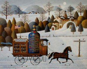 Charles Wysocki - Four Seasons - Winter