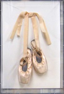 Ballet Slippers Plexi-Box