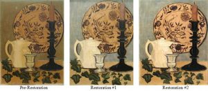 Restoration Project: 3 Phases