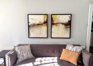 Just The Right Spot for a Diptych