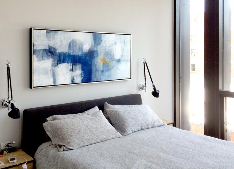 Urban Penthouse Chic & Minimal in Blue