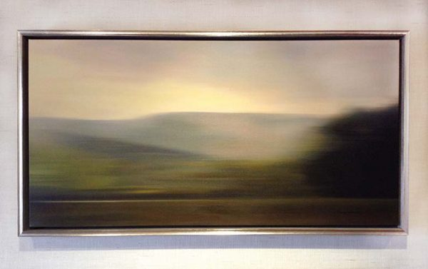 Don Scott MacDonald framed painting Promethean Morning