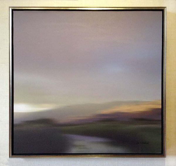 Don Scott MacDonald framed painting San Benito
