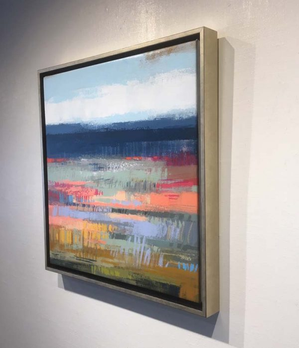 Carlyn Janus framed painting side view