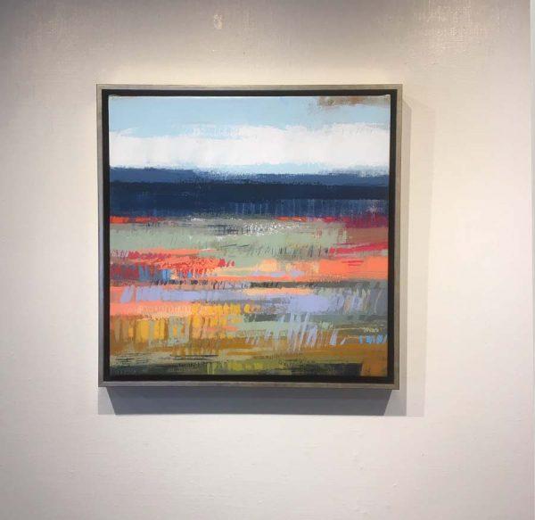 Carlyn Janus Framed landscape painting