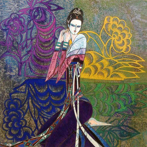 Ting Shao Kuang - The Bride Serigraph
