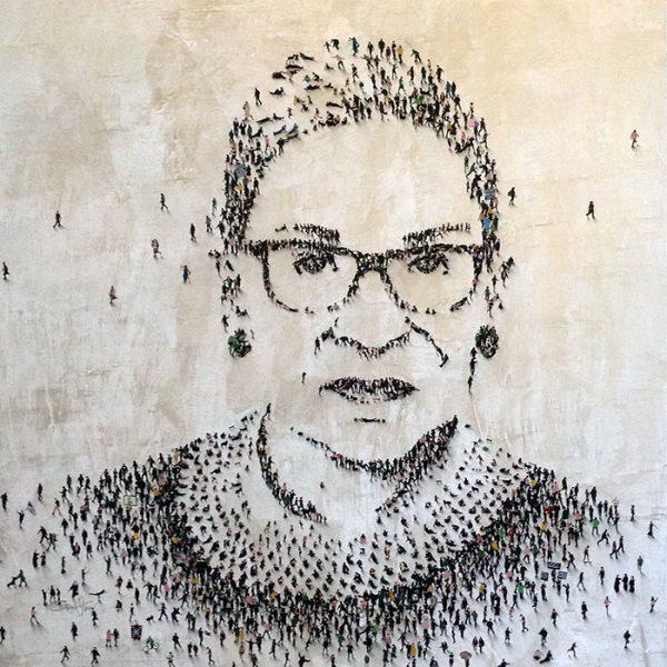 Craig Alan Original Painting of Ruth Bader Ginsburg