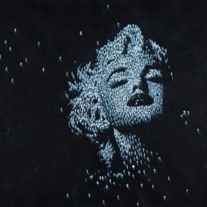 Craig Alan - Dream Big - limited edition giclee print of Marilyn Monroe with black background