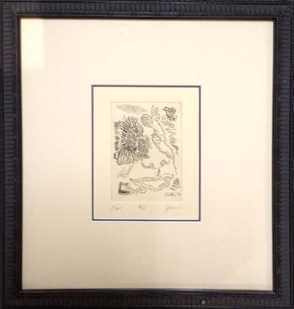 Jerry Garcia - Fine Framed Hand signed limited edition print