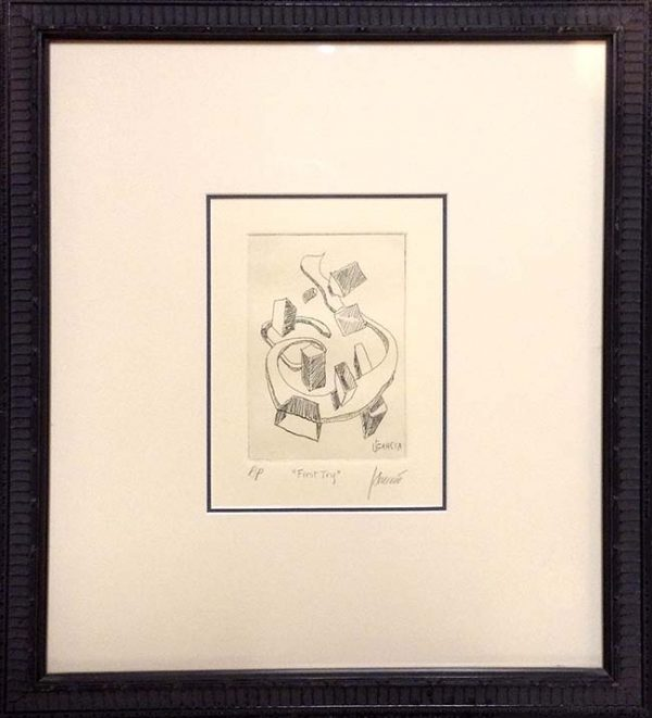Jerry Garcia - First Try Framed Hand signed limited edition print