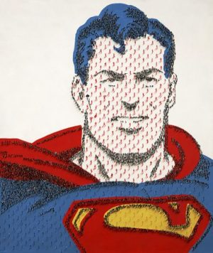 Craig Alan - Super People - Limited edition print of Superman