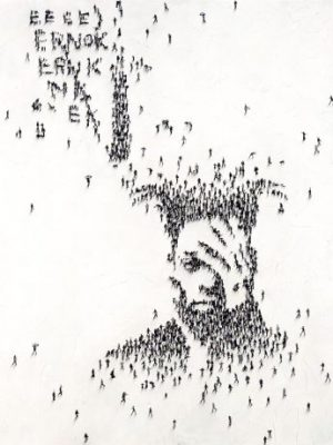 Craig Alan - The Walk - Limited edition giclee print of Jean-Michel Basquiat