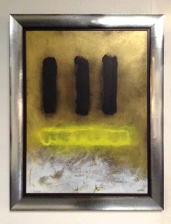 Anthony James Sketch II framed