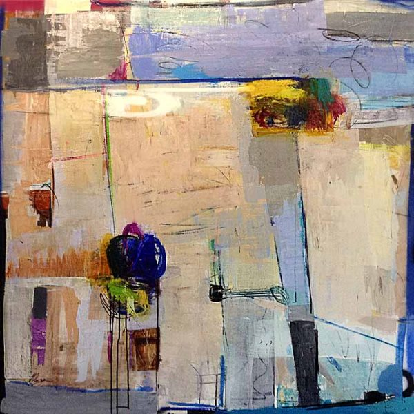 Helen Zarin painting Vista III abstract