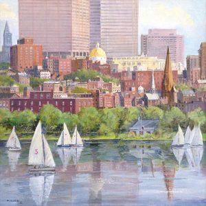 Frederick Kubitz painting of