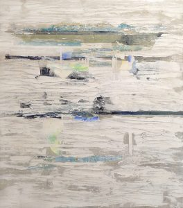 Karolina Vera Sussland abstract painting of water during winter