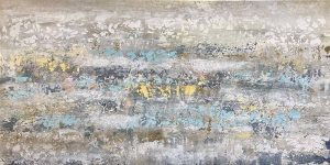 Alexys Henry abstract painting of beach