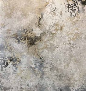 Alexys Henry painting of abstracted beach