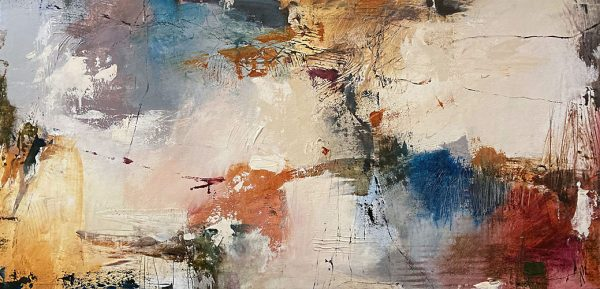 Natasha Barnes abstract with muted colors